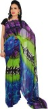 Rama Printed Fashion Georgette Saree (Gr...