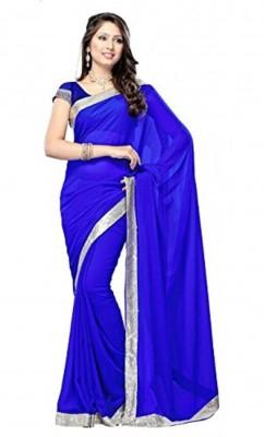 Anuradha Enterprises Self Design Bollywood Georgette Sari