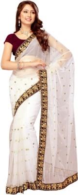 SRK Embriodered Bollywood Net Sari