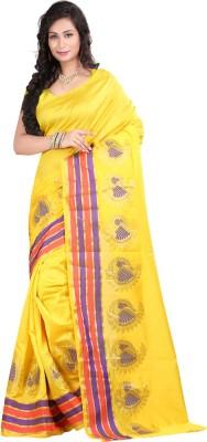 Laxmi Sarees Self Design Fashion Banarasi Silk Sari