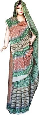 Sprint Textiler & Manufacturer Geometric Print Murshidabad Cotton Sari