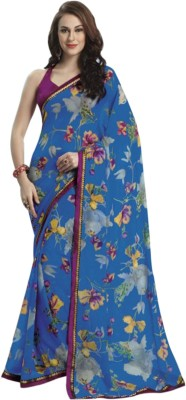 Bhavi Printed Fashion Chiffon Sari