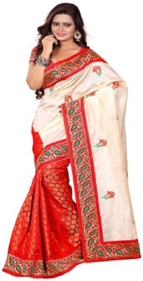 Fabiola Trendz Printed Fashion Handloom Brasso Sari