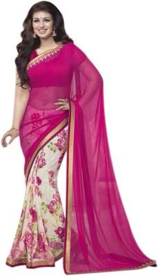 Hasti Urmilla Floral Print Fashion Georgette Sari