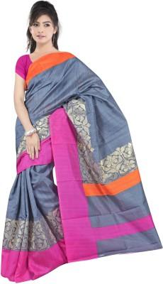 Dancing Girl Printed Bollywood Art Silk Sari