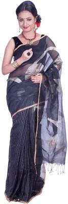 Jhumya Woven Tant Handloom Silk Sari