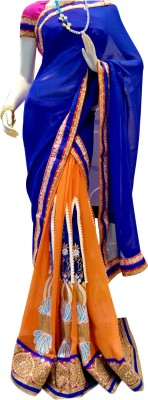Mamta Boutique Embriodered Bollywood Georgette Sari