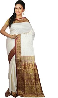 Womilo Woven Banarasi Banarasi Silk Sari