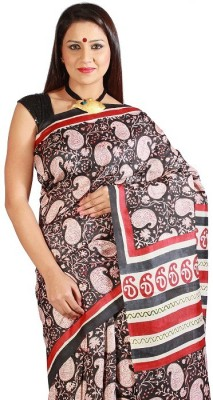 Slice of Bengal Woven Jamdani Silk Sari