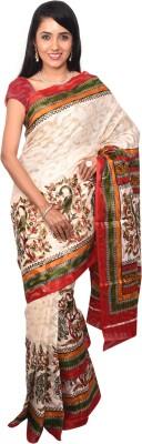 Arisidh Printed Bollywood Cotton Sari