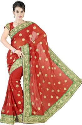 Triveni Self Design Fashion Chiffon Sari