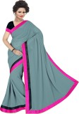 Mamta Synthetic Solid Bollywood Handloom...