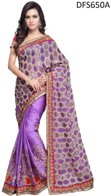 Firstloot Printed Fashion Jacquard Sari