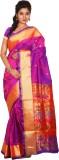 Mahila Silks Self Design Paithani Art Si...