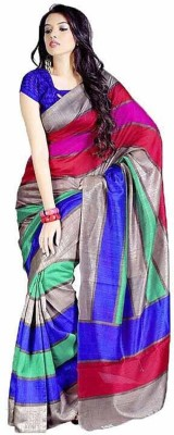 RajLaxmi Printed Fashion Cotton Slub Sari