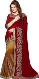 Kmozi Embroidered Fashion Georgette Sare...