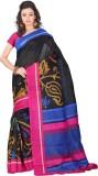 Yehii Floral Print Fashion Art Silk Sare...