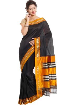 Dhammanagi Solid, Woven Ilkal Handloom Pure Silk Sari