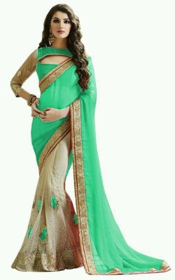 Meghalya Embriodered Fashion Net Sari
