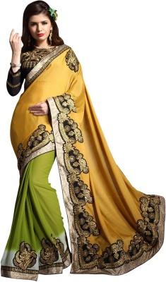 Awesome Self Design Fashion Jacquard Sari