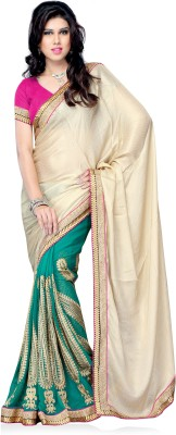 Aakriti Sarees Self Design Fashion Chiffon Sari