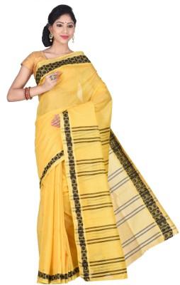 Creation Plain Bhagalpuri Silk Cotton Blend Sari