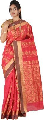 East West Self Design Coimbatore Silk Cotton Blend Sari