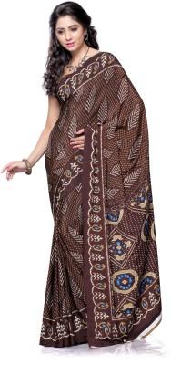 Varnilifestyle Printed Daily Wear Crepe Sari