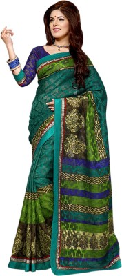 Bhavi Self Design Fashion Art Silk Sari