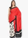 Satrang Printed Daily Wear Crepe Saree (...