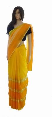 INDIANA FAB Embellished Fashion Chiffon Sari