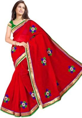 Richa Embriodered Fashion Cotton Sari