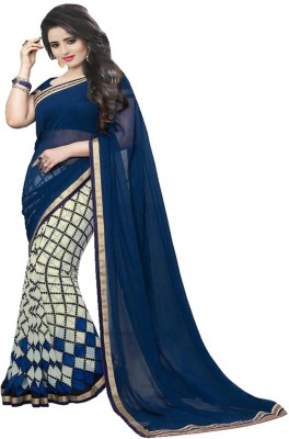 ambey shree trendz Striped Berhampuri Georgette Sari