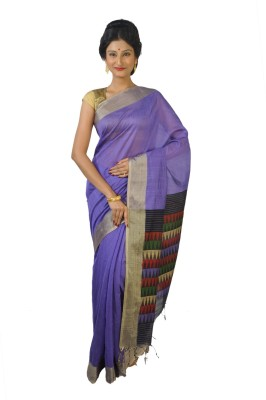 FabIndian Woven Coimbatore Handloom Silk Cotton Blend Sari