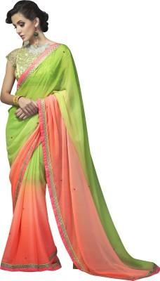 Sahiba Plain Fashion Jacquard Sari