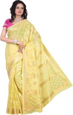 Tagbury Printed Bhagalpuri Tussar Silk Sari