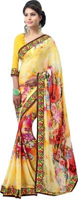 Apka Apna Fashion Printed Bollywood Cotton Sari