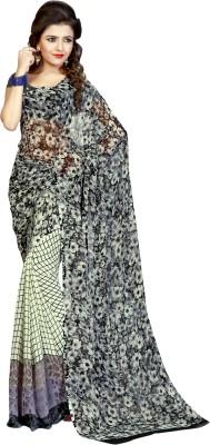 Trendyavenue Printed Daily Wear Georgette Sari
