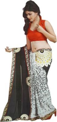 JAY BHAIRAV Printed Daily Wear Synthetic Sari