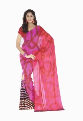 Chiranjibi Printed Daily Wear Printed Silk Sari