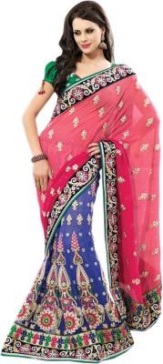 Lakmeart Embriodered Fashion Pure Georgette Sari