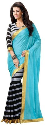 Mercury Enterprise Printed Bhagalpuri Art Silk Sari