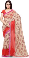 Anand Sarees Printed Daily Wear Georgette Sari(Multicolor)