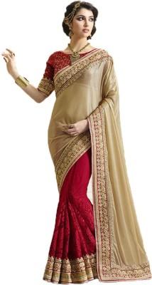 Rajhans Fashion Embriodered Fashion Lycra Sari