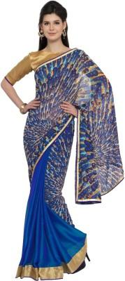 Moiaa Digital Prints Fashion Georgette Sari