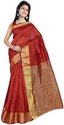 Exciting Deals Self Design Daily Wear Tissue Silk Sari