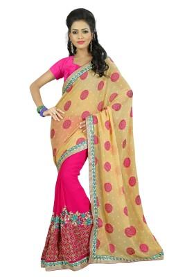 Janya Self Design Khandua Georgette Sari