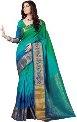 Sudarshan Silks Printed Fashion Raw Silk Sari