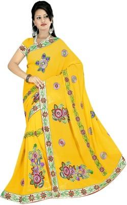 My Choice Fashion Self Design Bollywood Georgette Sari