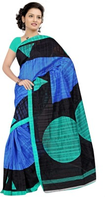 Best Collection Printed Fashion Art Silk Sari